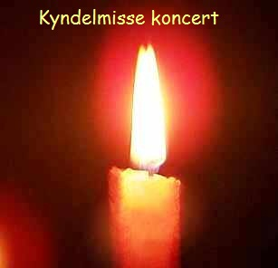 Program til kyndelmissekoncert